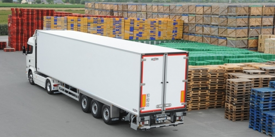 CHEREAU's semi-trailers for fresh fruit & vegetables